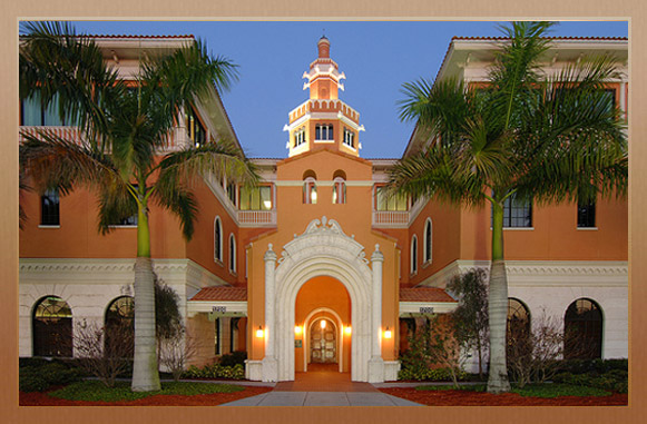 Stetson University St. Pete Painting