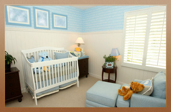 Childs Bedroom Painted
